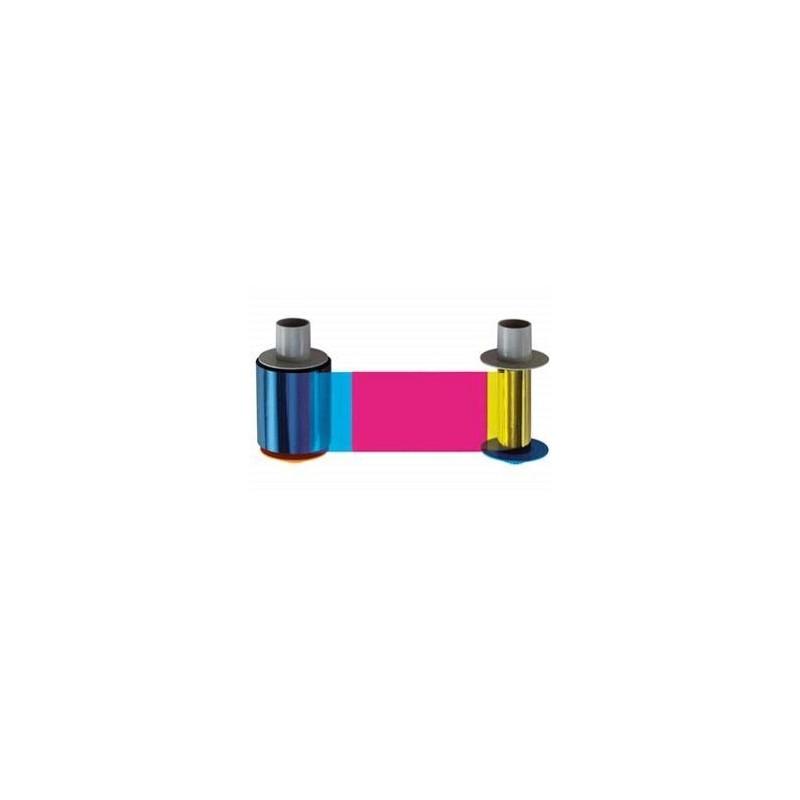 Cartucho con Ribbon - YMCFKO + Rodillo de limpieza. (400 impresiones)