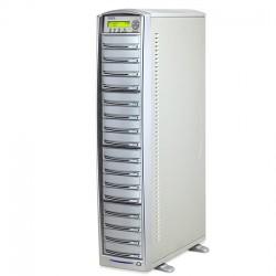 Primera DUP-15 Torre de duplicación 15 grabadoras CD/DVD, un lector, 500GB HDD