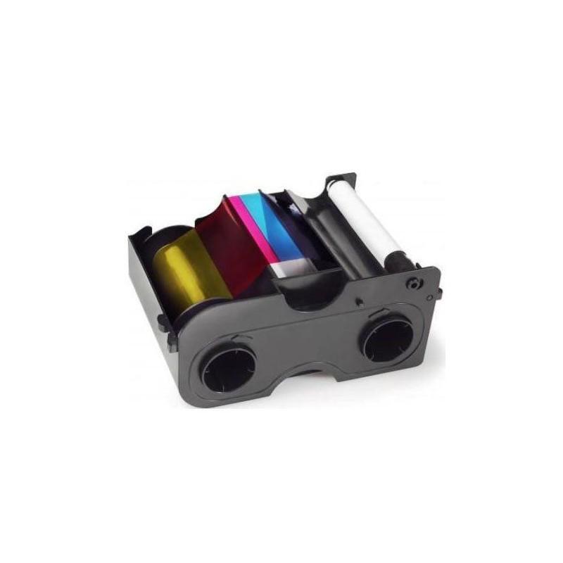 YMCKO cartucho con rodillo de limpieza - 250 impresiones