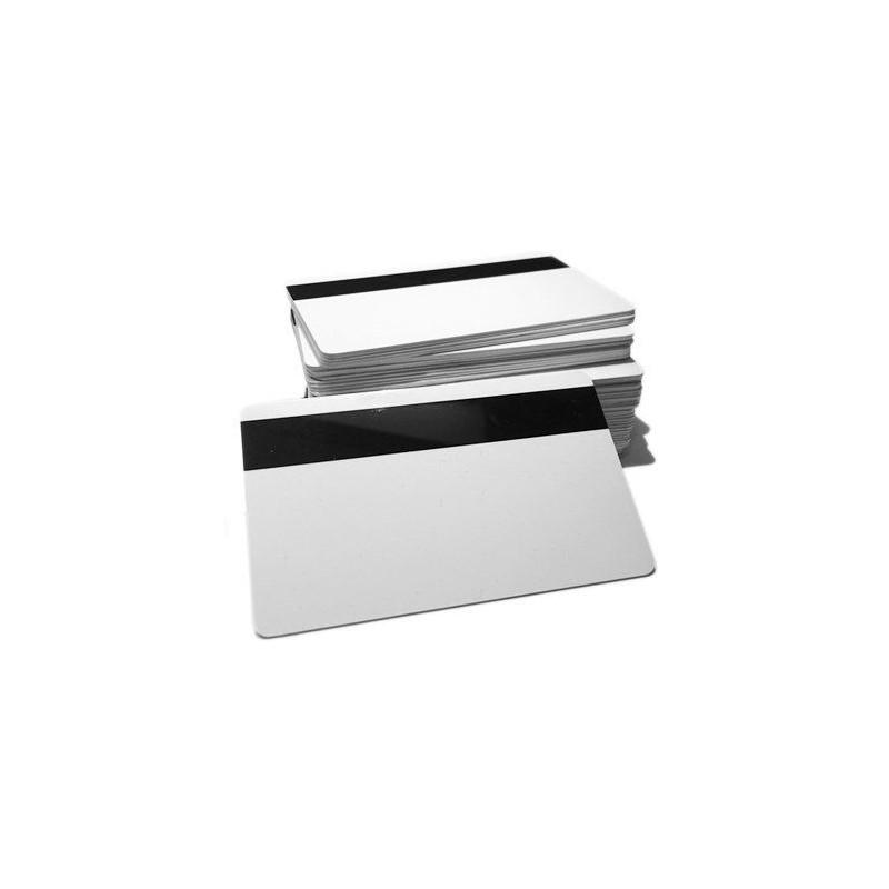 Tarjeta PVC Blanca 30 mil. Con Banda Magnética LoCo