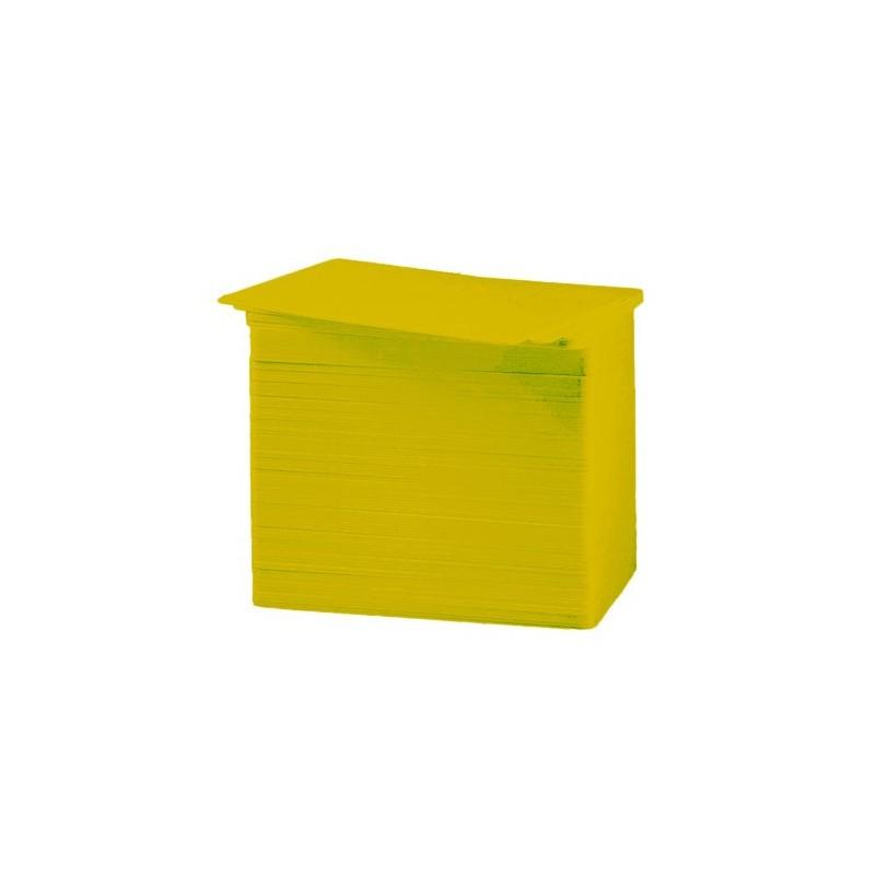 Tarjeta PVC Color oro 30 mil.