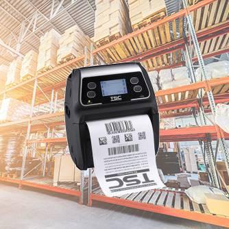 Impresora Portátil de Etiquetas Adhesivas y Tickets TSC Alpha 4r