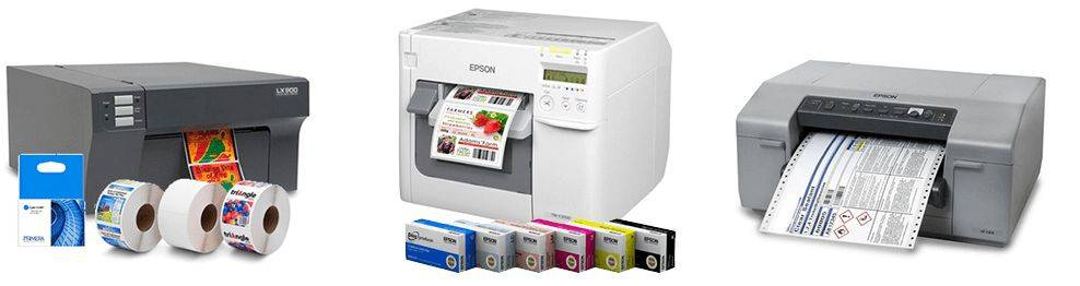Impresoras de etiquetas color