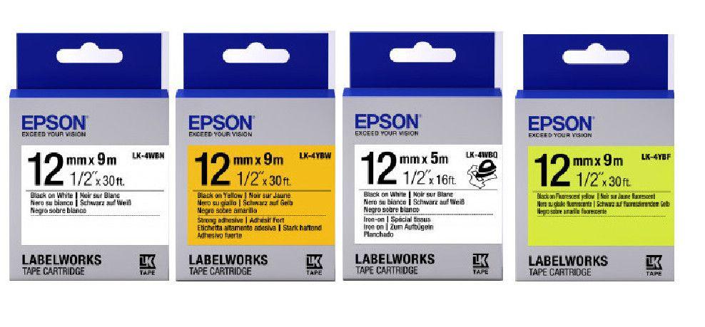 Etiquetas y cintas LabelWorks