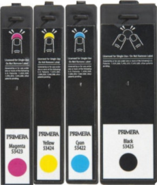Tintas inkjet Primera Lx