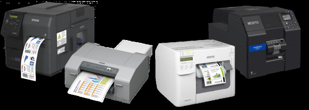 Impresoras de Etiquetas Color Epson ColorWorks