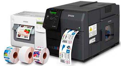 Impresora Etiquetas Color - Impresora de Etiquetas Epson Colorworks TM-C3500 - C7500