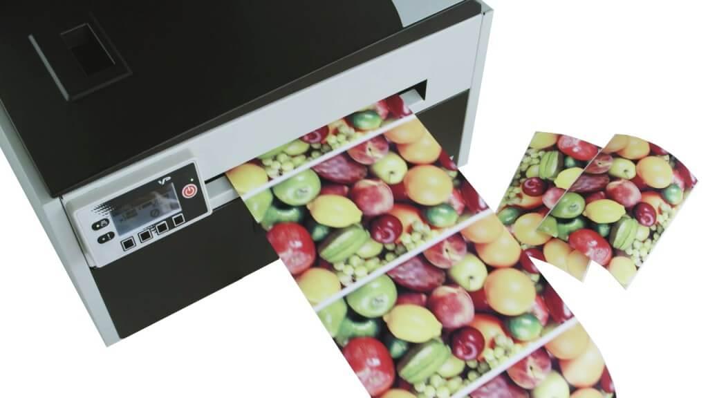 vp700 - Impresora etiquetadora a color industrial