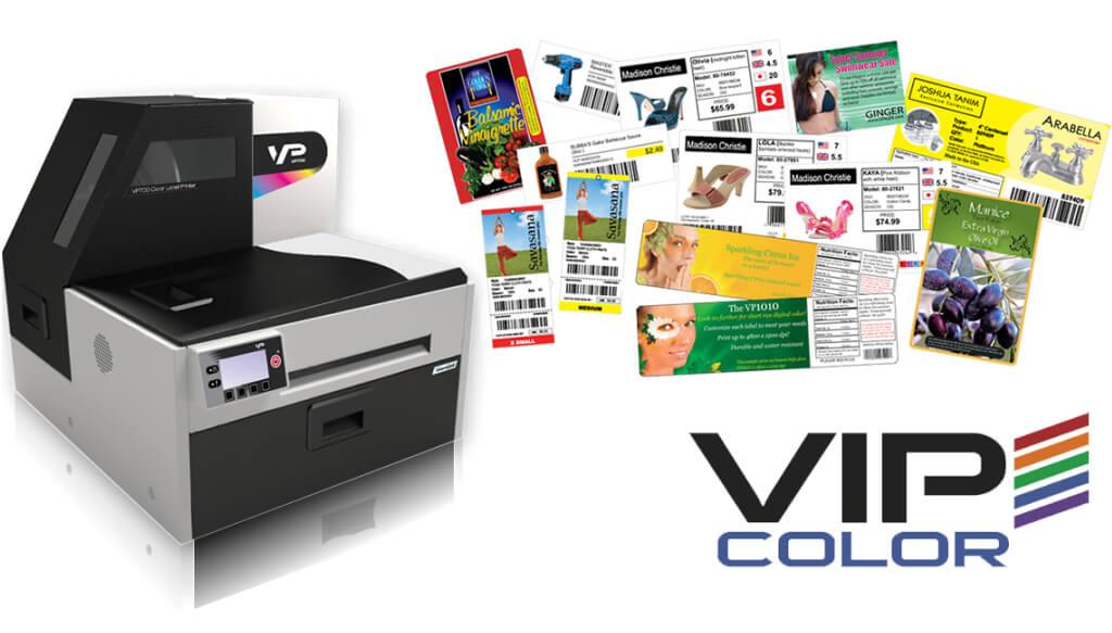 Vipcolor VP700 Impresora de etiquetas a color